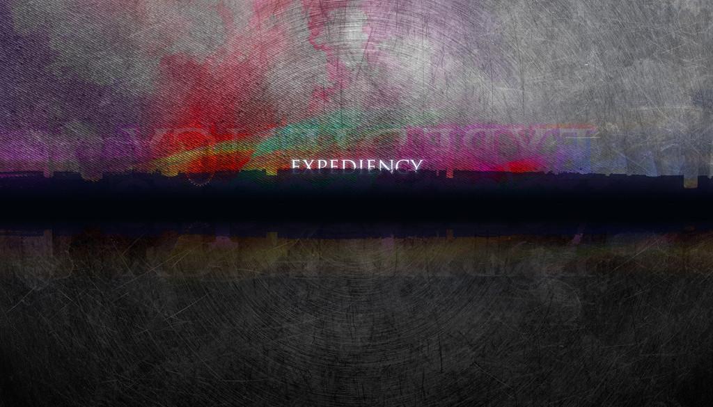 """""""Expediency"""""""