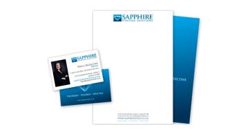 Sapphire Staff Stationery Design & Printing