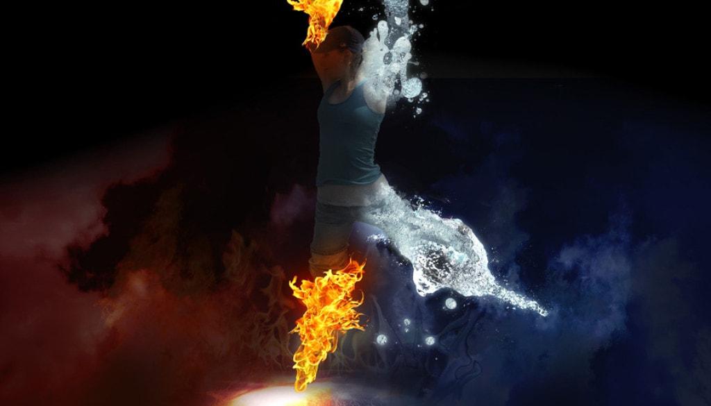 fire water dance